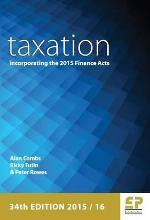 Taxation: Incorporating the 2015 Finance Act 2015/16