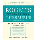 Roget's International Thesaurus 7th Edition