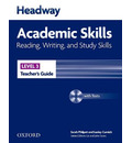 Headway Academic Skills: 3: Reading, Writing, and Study Skills Teacher's Guide with Tests CD-ROM