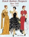 French Fashion Designers Paper Dolls