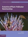 Systematics Association Special Volume Series: Evolution of Plant-Pollinator Relationships Series Number 81
