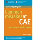 Common Mistakes: Common Mistakes at CAE...and How to Avoid Them