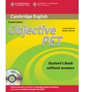 Objective: Objective PET Student's Book without Answers with CD-ROM