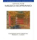 G. Schirmer Opera Anthology - Arias For Mezzo-Soprano