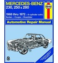 Mercedes-Benz 250 and 280 Owner's Workshop Manual