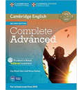 Complete: Complete Advanced Student's Book without Answers with CD-ROM