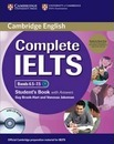 Complete: Complete IELTS Bands 6.5-7.5 Student's Pack (Student's Book with Answers with CD-ROM and Class Audio CDs (2))
