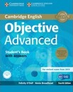 Objective: Objective Advanced Student's Book Pack (Student's Book with Answers with CD-ROM and Class Audio CDs (2))