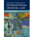 A Critical Introduction to International Criminal Law