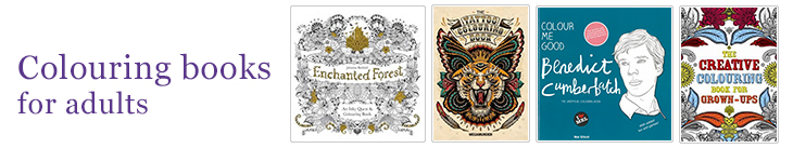 Colouring books for adults promotion